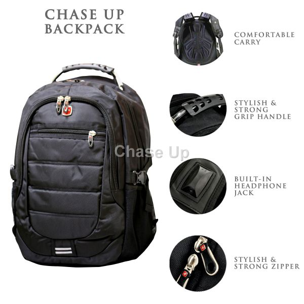 Gents Backpack 8613 TI-007 Imp (Black)
